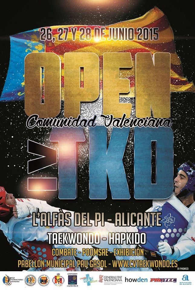 Terramar Centro de Negocios patrocina al Club de Taekwondo de Finestrat en el «IV Open Comunidad Valenciana TKD»