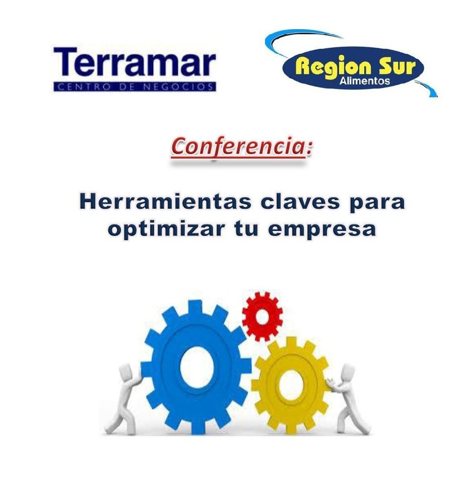 """Conferencia en Terramar Centro de Negocios """"Herramientas claves para optimizar tu empresa"""""""