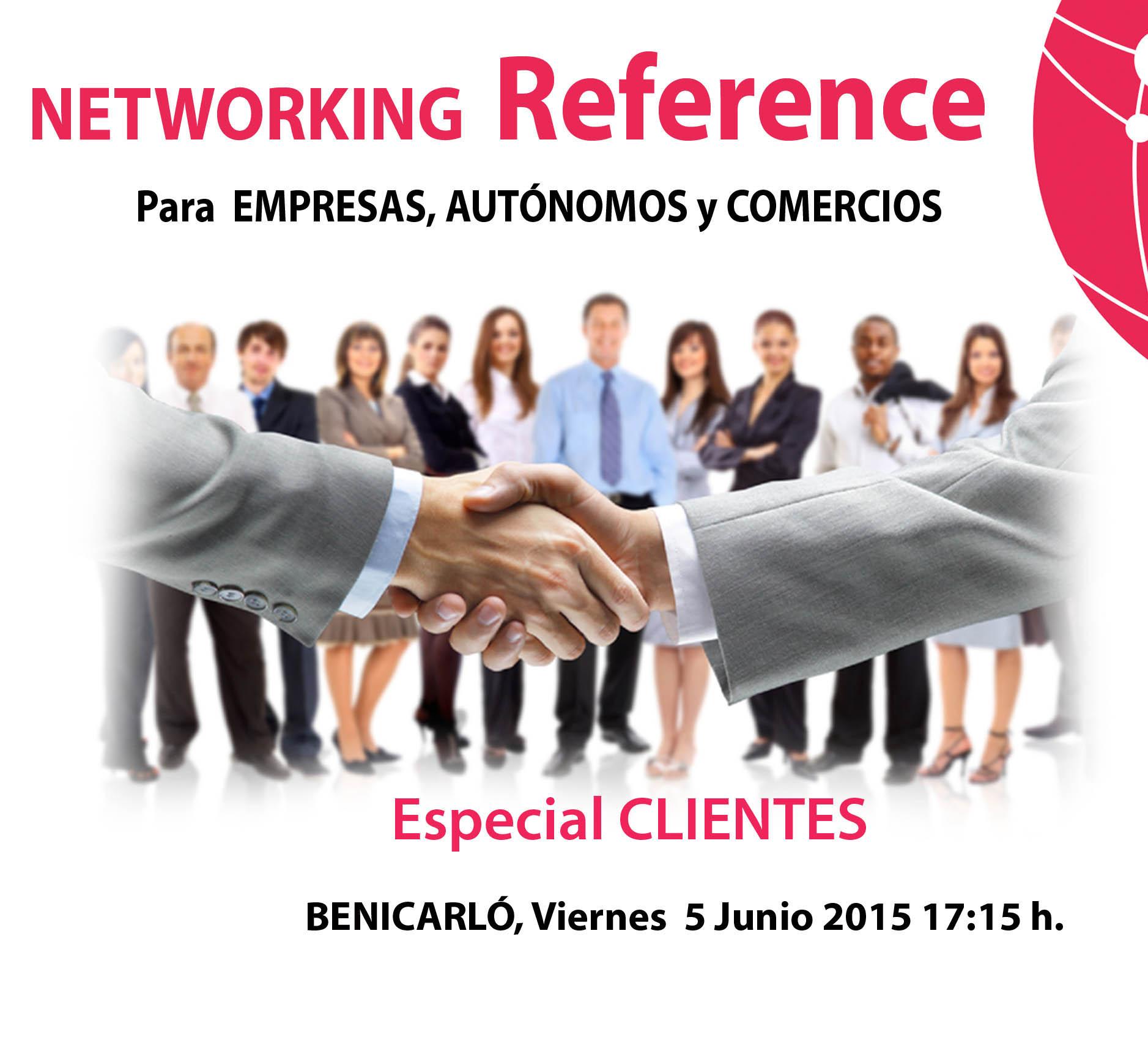 """Networking Reference acciÓnate """"Especial clientes"""". Benicarló (Castellón)"""