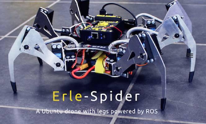 Emprendedores alaveses lanzan una araña robótica que accede a zonas de desastres y espacios reducidos