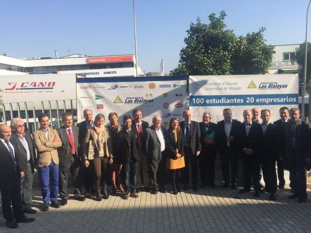"""Inurban participa en la iniciativa """"100 Estudiantes, 20 Empresarios"""""""