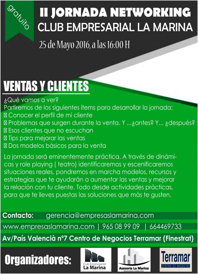 II Jornada Networking Club Empresarial La Marina en Terramar Centro de Negocios