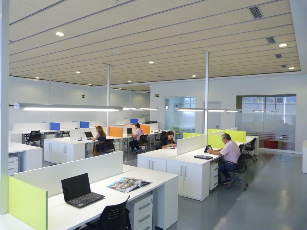 'Coworking' para trabajar en colaboración