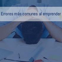 Errores más comunes al emprender un negocio