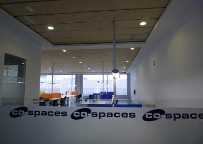 Hall de la sala coworking