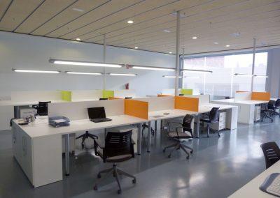 Sala Coworking dentro del Edificio Terramar