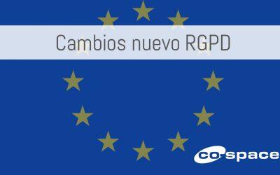Nuevos cambios en la RGPD