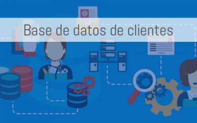 Cómo obtener una base de datos de clientes desde cero