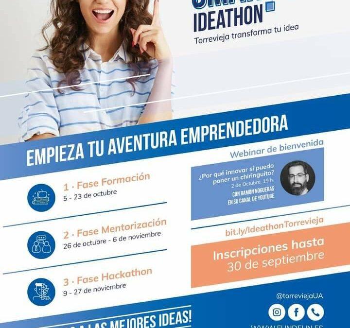 Evento para emprendedores: Ideathon Torrevieja